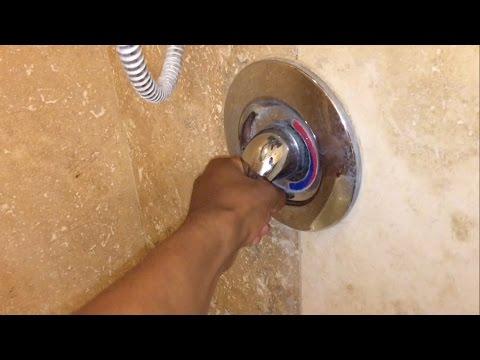 Turning on someone elses shower.