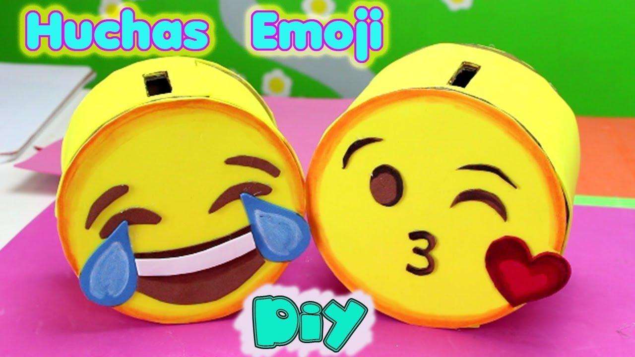 Huchas O Alcancias Emoji Manualidades De Emojis Diy