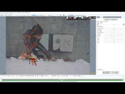 Copenhagen Boulders - Raw mocap tracking take 18