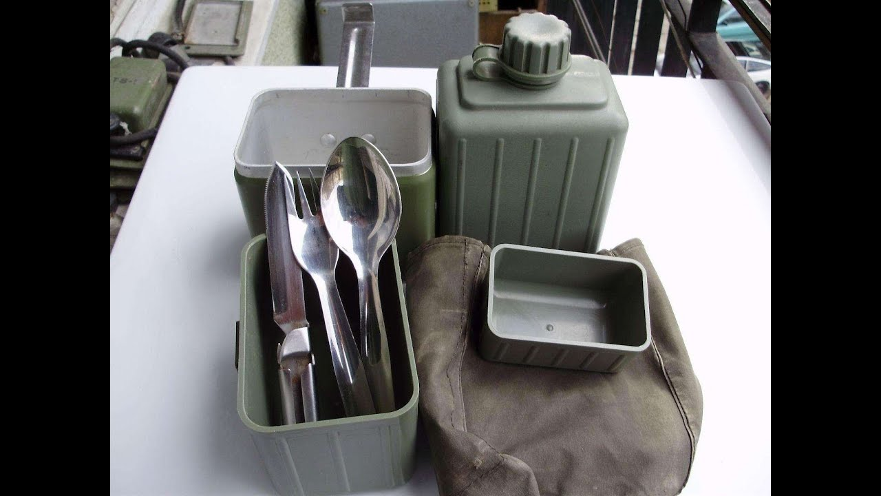 Yugoslavian Mess Kit Military Surplus Preview The Outdoor Gear Review