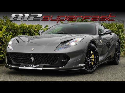 Incredible Ferrari 812 Superfast With Over £100K Of Options!