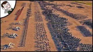 MASSIVE 17500 ENGLAND v FRANCE SURVIVAL BATTLE - Medieval Kingdoms Total War Gameplay (Attila Mod)