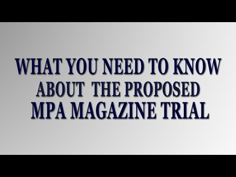 What Newsagents Need to Know About the 2015 MPA Trial