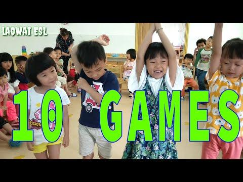10 ESL games - simple activities [kindergarten]