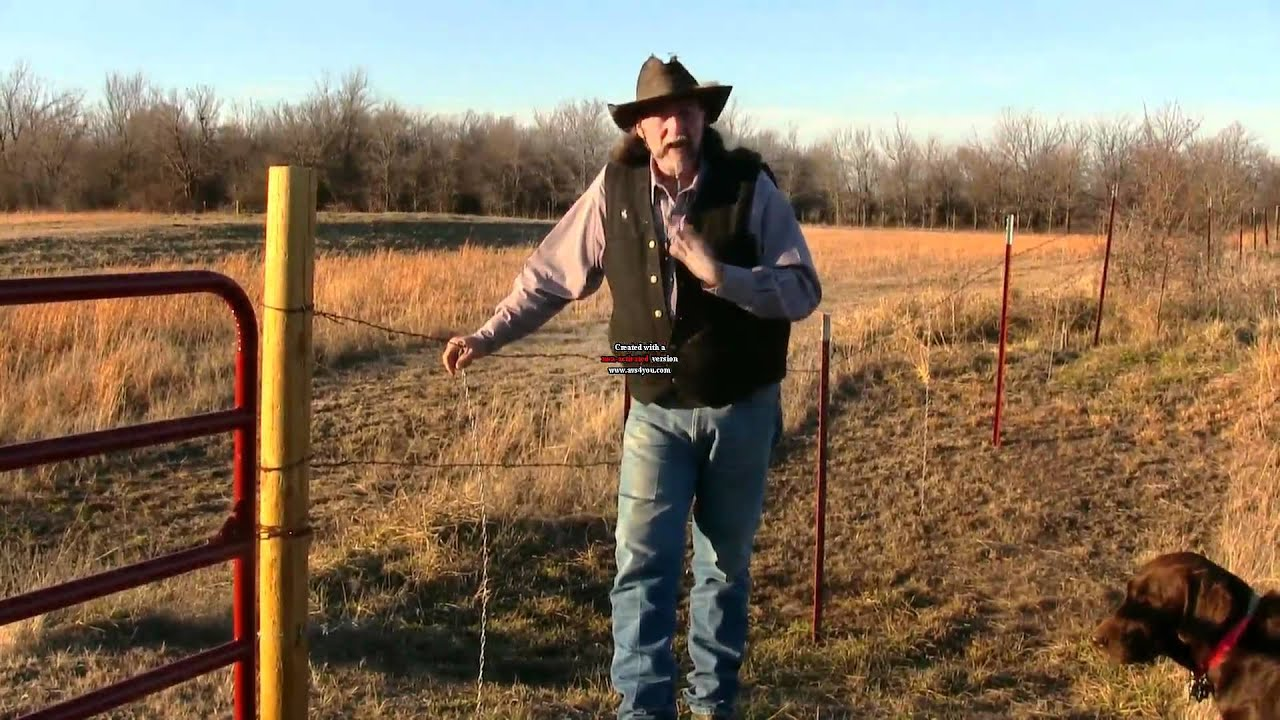 Fixing Up Old Fences With Fence Stays Stall13 Com Videos