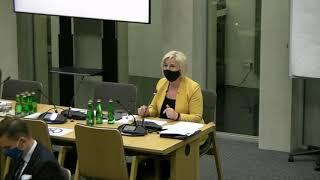 Senator Lidia Staroń - kandydat na RPO - wystąpienie z 10 czerwca 2021 r.