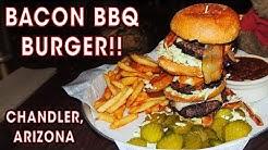 Porkopolis Bacon Burger Challenge w/ BBQ Baked Beans!!