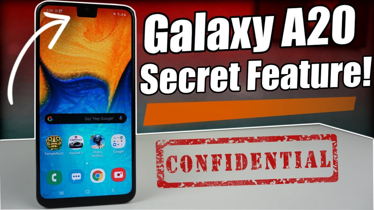 Samsung Galaxy A20 | Secret Feature You Probably Didn't Know