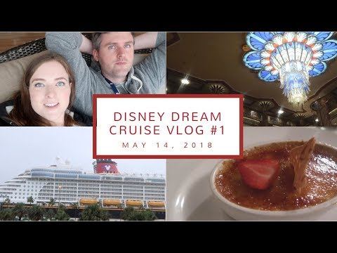 Disney Cruise Vlog Day 1 | Ship Embarkation, Our Stateroom,