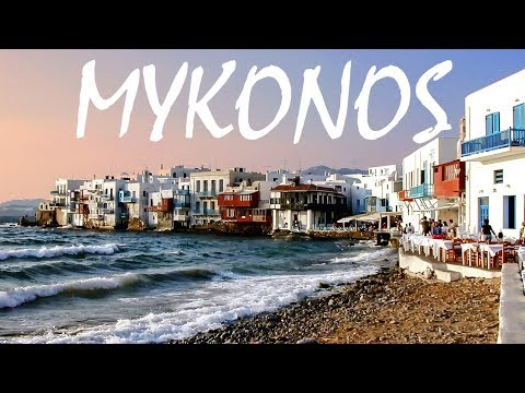 A Tour of Mykonos, Greece & Super Paradise Beach