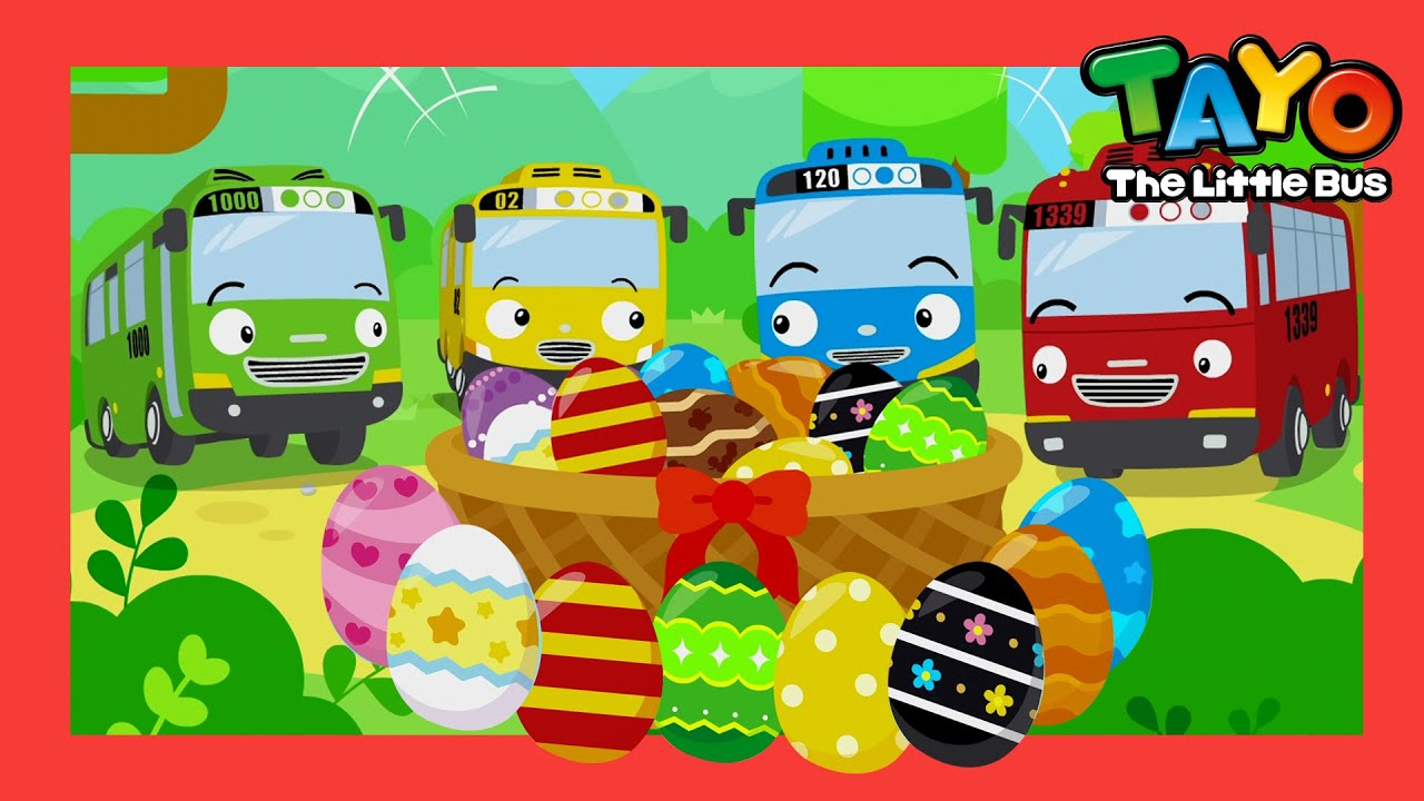 *NEW* Happy Easter Color Song2 l Tayo Color Song(+more) l Songs for children l Tayo the Little Bus