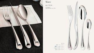 Обзор столовых приборов Gottis Wave (24 предмета / 6 персон)