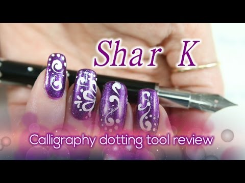 Nail Art Design Bornprettystore Calligraphy Dotting Tool Review