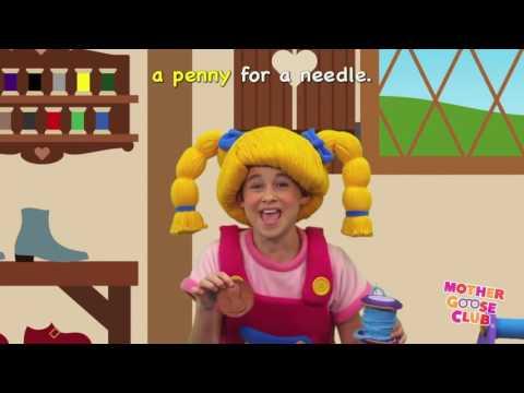 Pop Goes the Weasel   Mother Goose Club Kids Karaoke online video cutter com