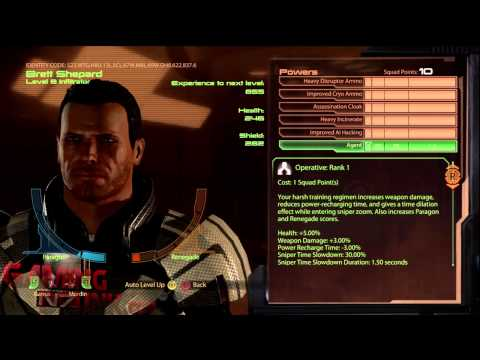 Mass Effect 2 - Infinite Squad Point Glitch after Patch
