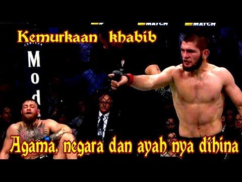 Khabib nurmagomedov ngamuk dan buat kerusuhan setelah bertarung di UFC 229 karena agamaya dihina