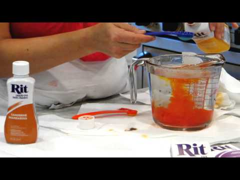 Rit Dye 101 - How to Mix Custom Colors - YouTube