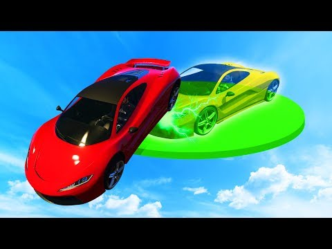 OP GHOST SUPERCAR DERBY!? (GTA 5 Funny Moments)