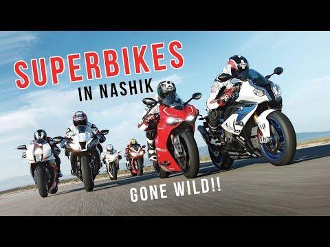 SUPERBIKES IN NASHIK GONE WILD!!