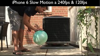iPhone 6 Slow motion 240fps & 120fps