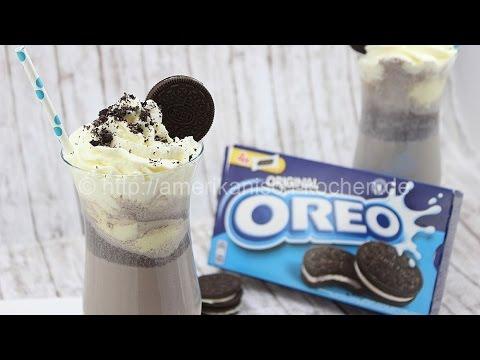 Oreo Milkshake- leckerer Shake mit Oreos & Eiscreme