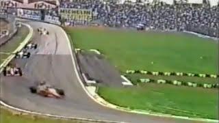 LARGADA do GP de San Marino de 1986: Senna e Piquet na 1ª Fila