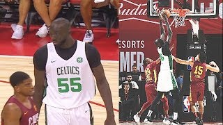Tacko Fall Makes NBA Players Look Like Kids In 2019 NBA Summer League! Celtics vs Cavaliers Video