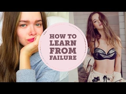 I Got Rejected By Victoria's Secret | How To Learn From Fail