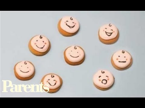 Easy Baby Shower Food    Baby Face Cookies | Parents