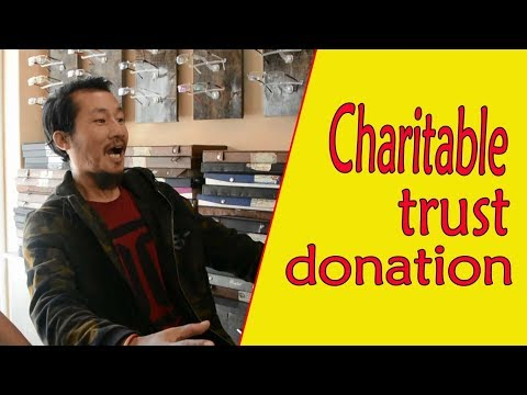 Charitable trust donation lakpa da