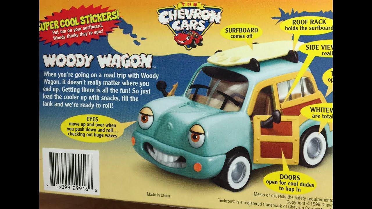 Toy Review Chevron Car Woody Wagon Youtube