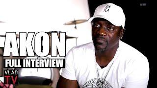 Akon on Defending Tekashi, T-Pain Never Leaving the Hood, Not Signing Drake, Eminem (Full Interview)