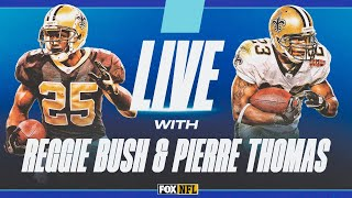 LIVE with Former Saints RB Duo Reggie Bush and Pierre Thomas   FOX NFL
