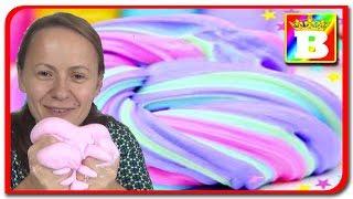 Fluffy Slime!!! Slime pufos marca Bogdan`s Show. DIY