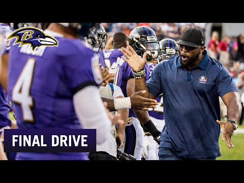 Ray Lewis Gave A Speech To Ravens   Ravens Final Drive