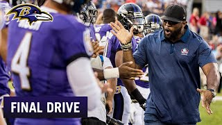 Ray Lewis Gave a Speech to Ravens | Ravens Final Drive