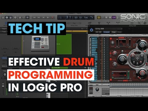 Tech Tip - Effective Drum Programming in Logic Pro