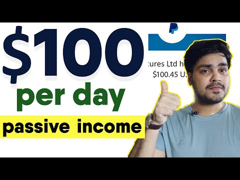 Earn $100 USD PER DAY  Make Money Online   Work From Home   Earn Money Online   passive income