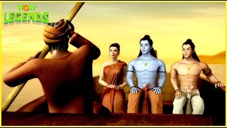 Ramayana: The Epic | Hindi Animated Cartoon For Kids | Ram Aur Sita Ka Vanwaas | Wow Legends