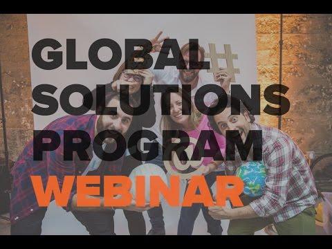 Is the Global Solutions Program Right For You? | Singularity University Webinar