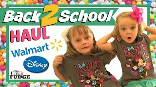 Back 2 School HAUL || Walmart & Disney || Supplies & Clothes || W/ Prices $$$