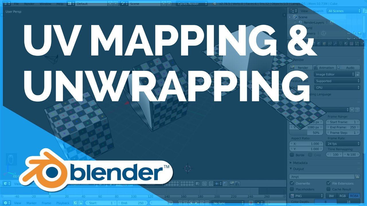 Uv Mapping Unwrapping Blender Fundamentals Youtube
