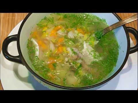 Суп из минтая