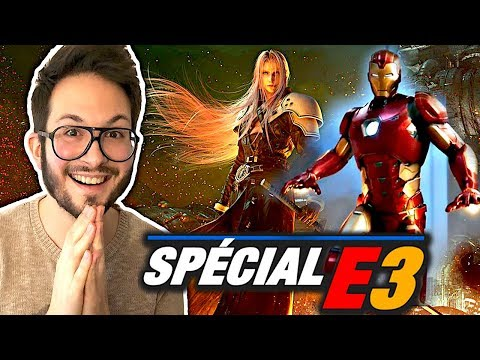 Square Enix enflamme l'E3 2019 : FF7 Remake et Marvel's Avengers double claque 😍