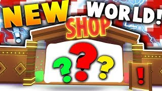 THE SECRET *NEW* CHRISTMAS WORLD GOT LEAKED!! - Roblox Pet Simulator (Update)