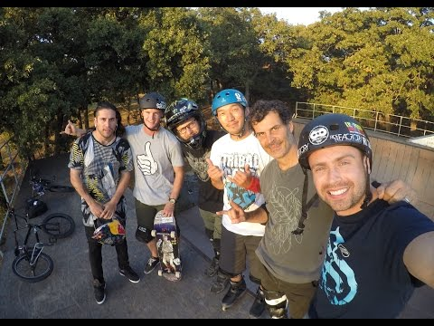 Mat Hoffman's House - Backyard Session | ASA High School BMX Tour