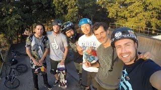 Mat Hoffman's House - Backyard Session | ASA High School BMX Tour