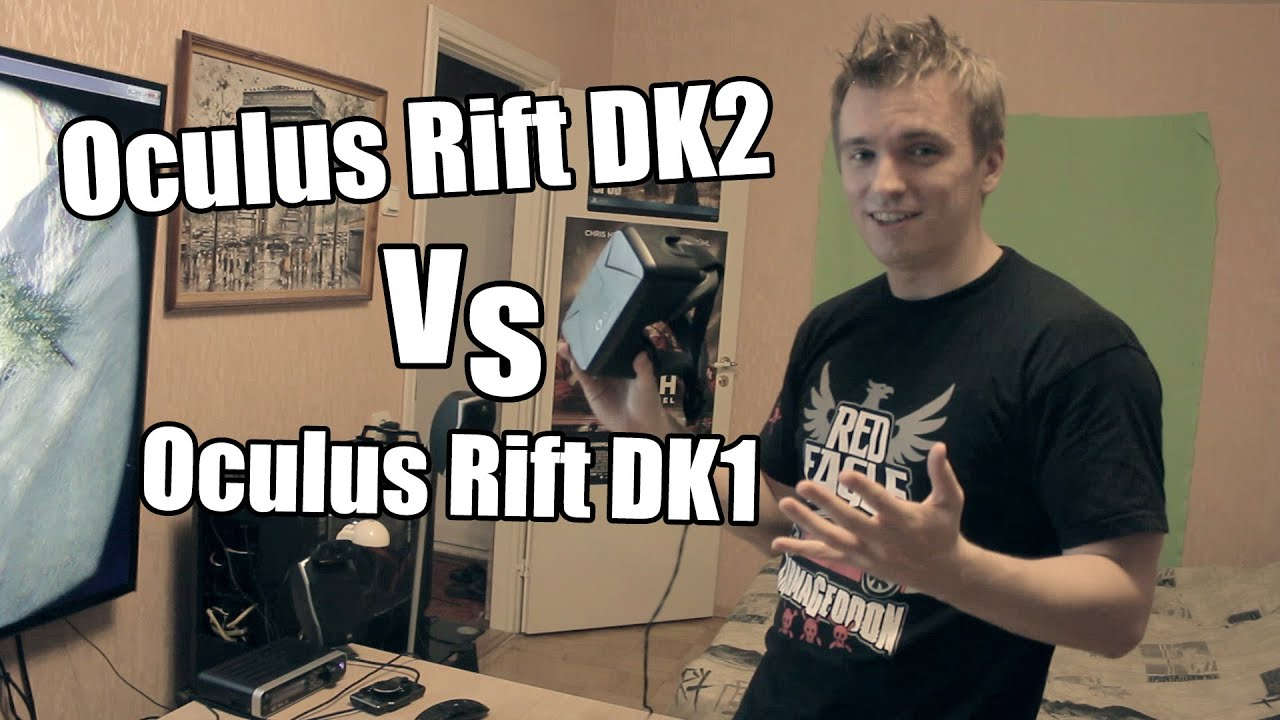 Oculus Rift DK2 - Esimene test, Unboxing + Võrdlus DK1-ga ...