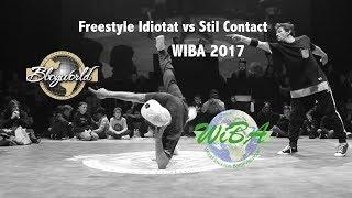 Freestyle Idiotat vs Stil Contact [Semi-Final]  // Bboy World // WIBA 2017