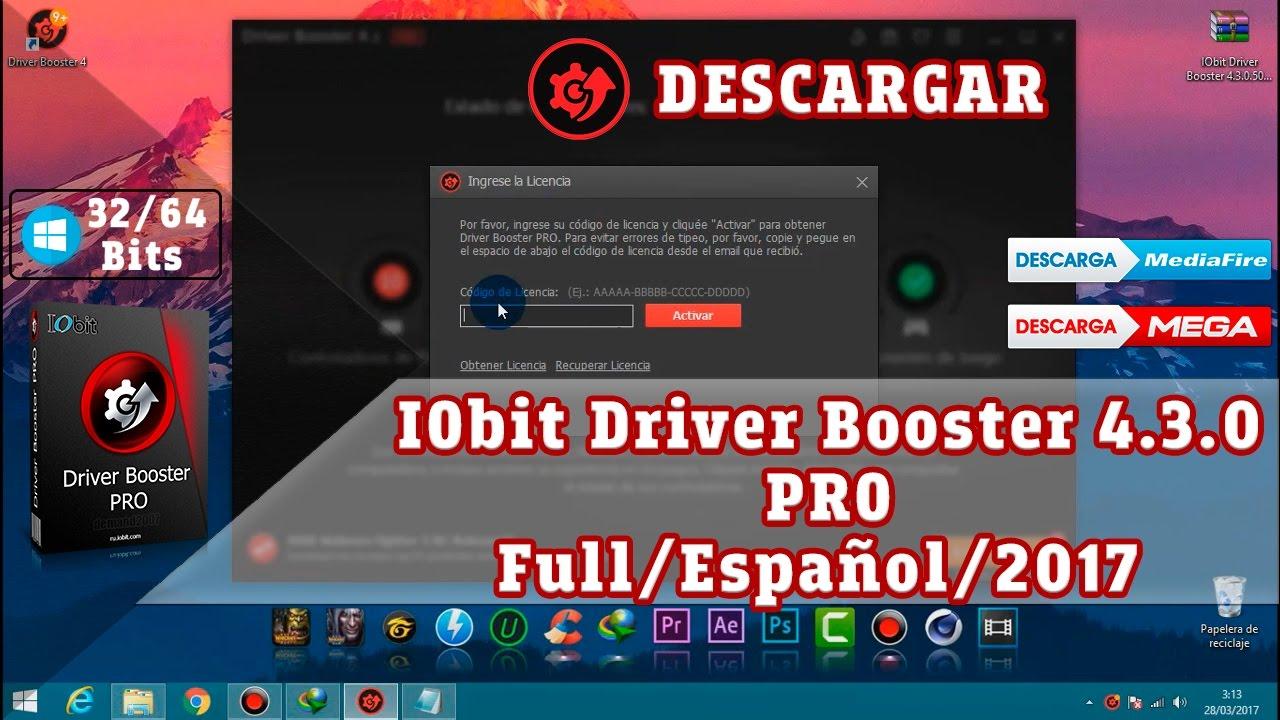 Descargar e Instalar IObit Driver Booster 4.3.0 Pro+ Crack